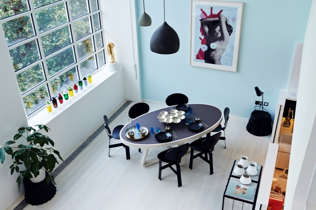 Dining room arial