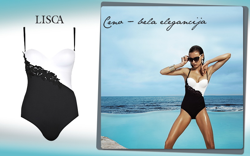 Crno-bela elegancija_LISCA Swimwear